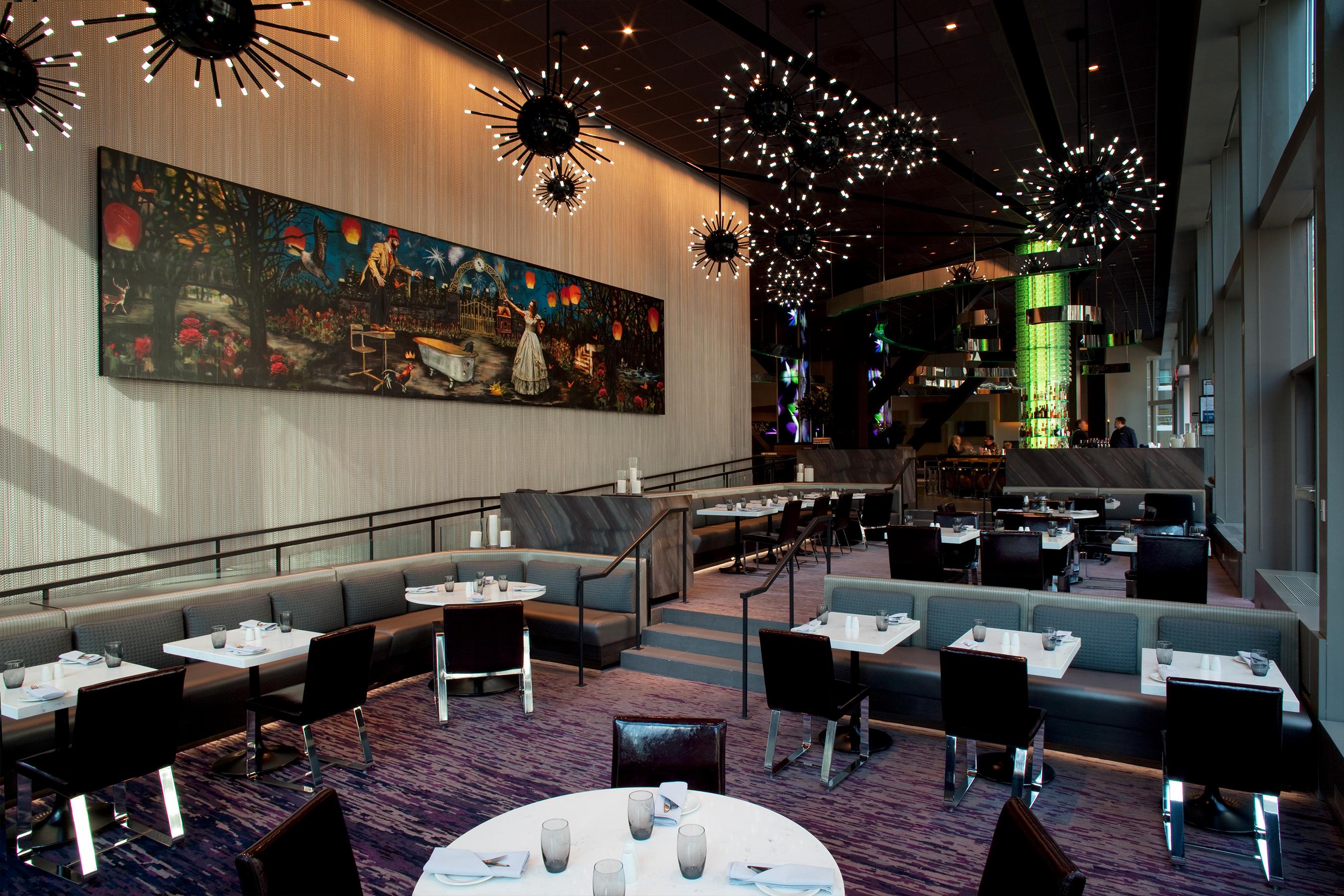 Café Nicole Novotel Resturant Interior